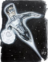 Green Lantern by AdamWithers