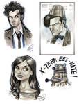 Doctor Who Sketch Dump