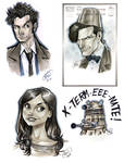 Doctor Who Sketch Dump