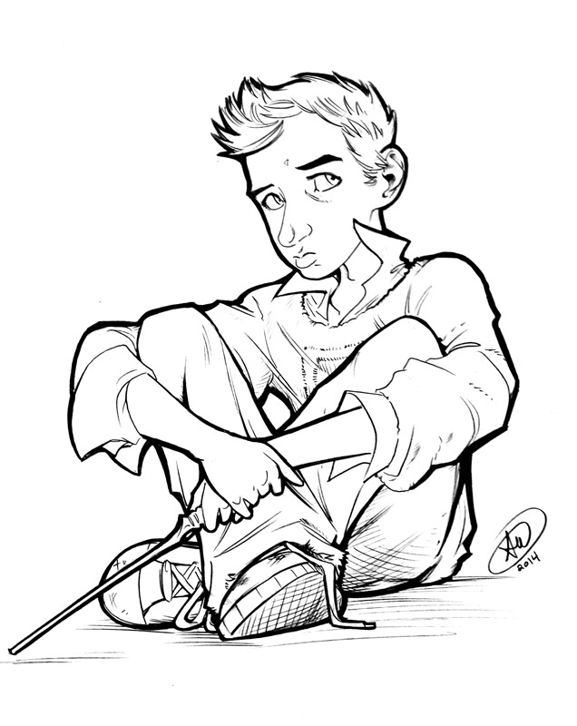 Teddy Lupin by AdamWithers