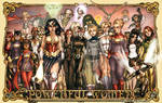 Women of DC and Marvel