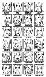 Telepath Emotion Sheet