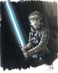 Luke Skywalker by AdamWithers