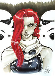 Mara Jade by AdamWithers