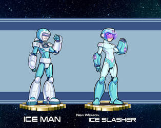 MMRedesign: DLN-005 Ice Man by AdamWithers