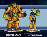MMRedesign: DLN-006 Bomb Man