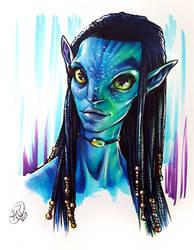 Neytiri by AdamWithers