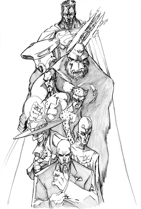 Legion Of Doom Coloring Pages Coloring Pages