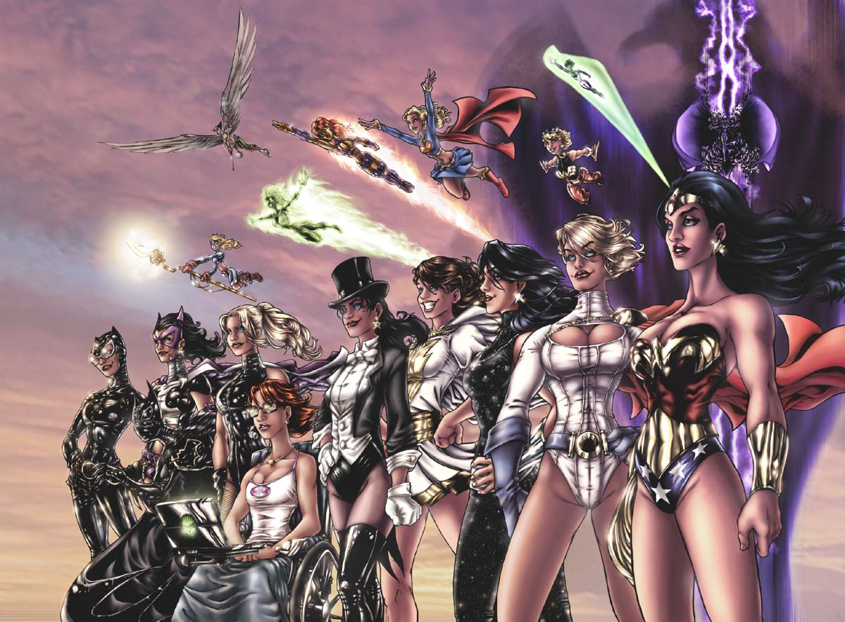 The Women of DC Comics