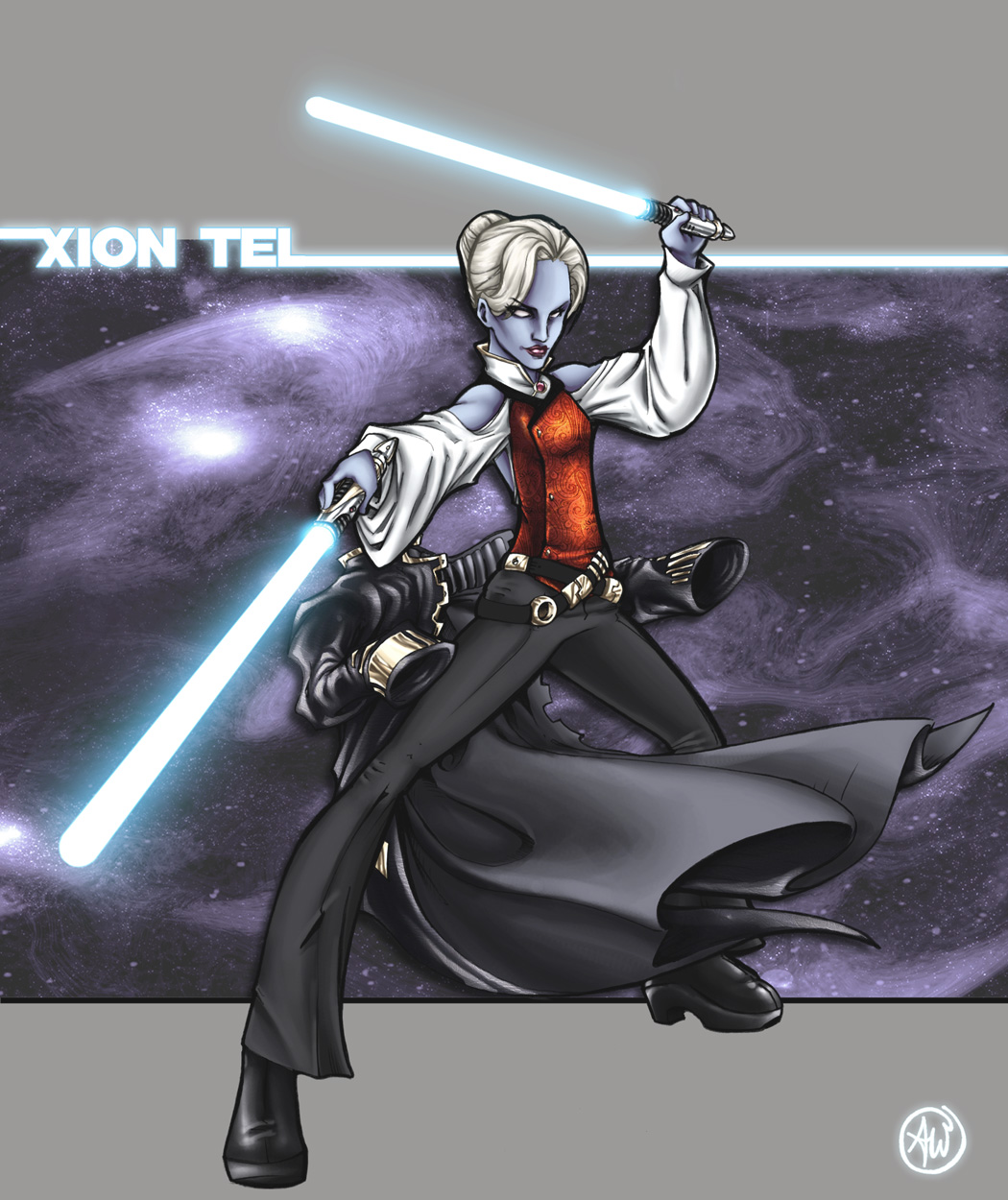 Xion Tel, Jedi Master by AdamWithers