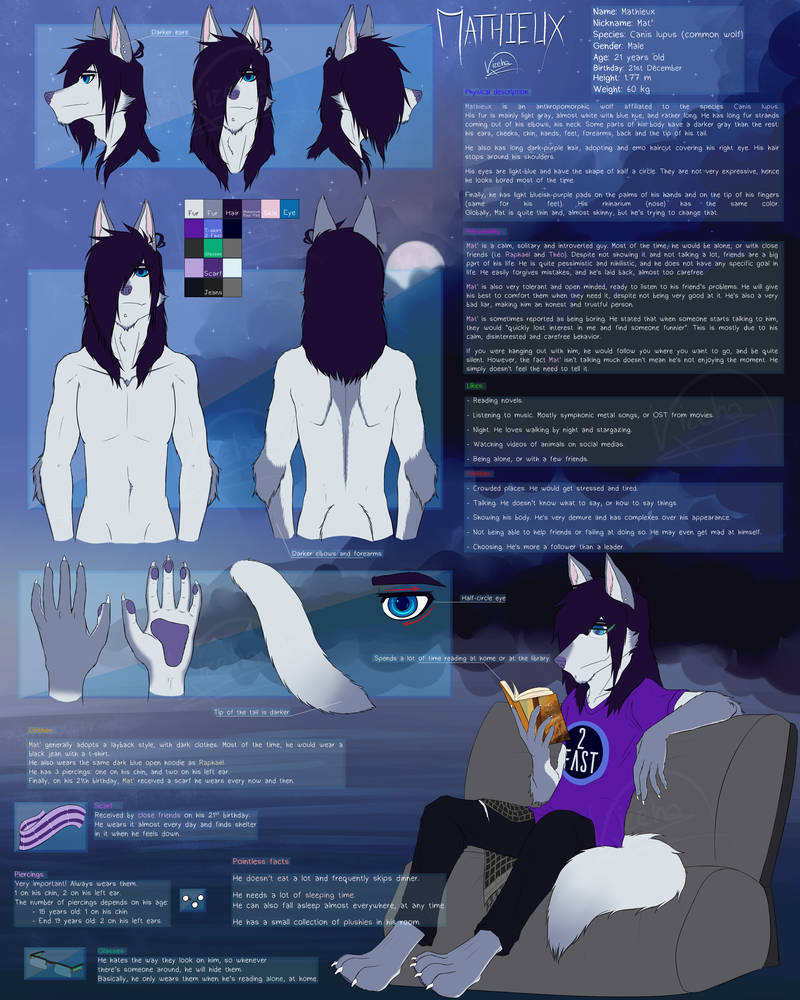 Mathieux's Reference - 2018 by Kizeha on DeviantArt