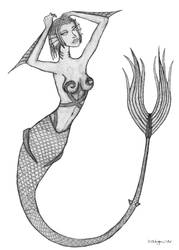 Mermaid by Dahgnear