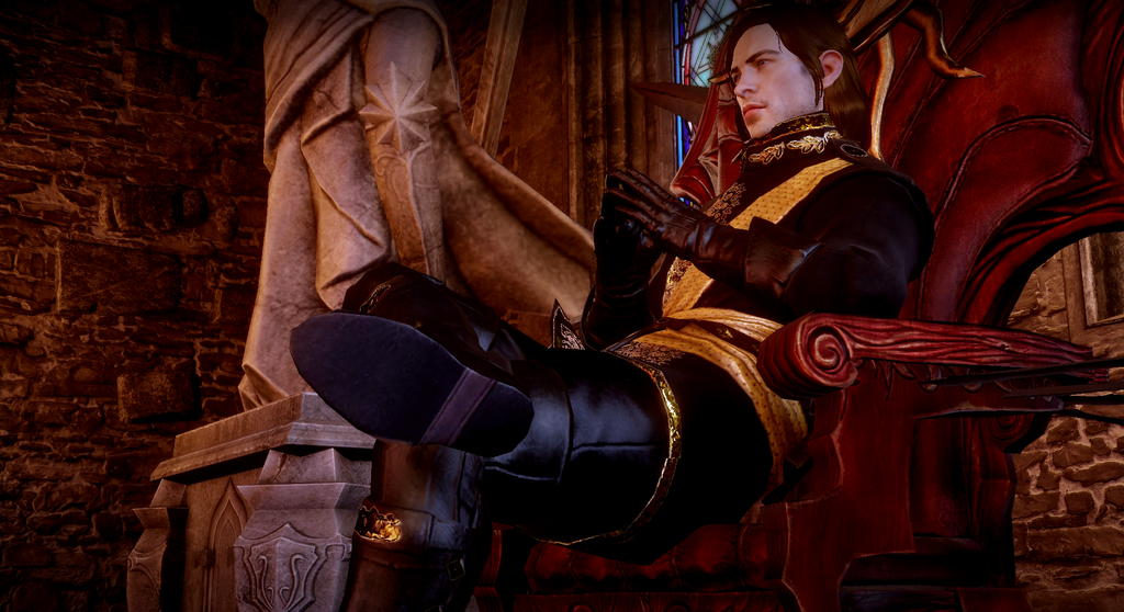 Inquisitor Trevelyan by Dahgnear