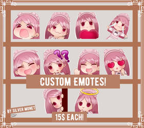 Custom discord/twitch emotes! by loomy88