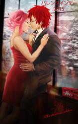 Sasosaku Valentine 2015 by petiteantoinette