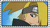 Deidara Stamp by NanashiEmDuat