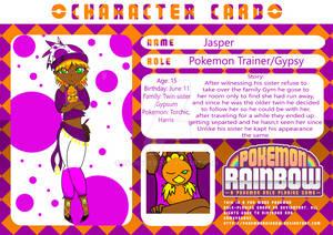 Jasper's Character Card