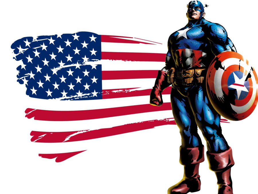 Captain America Proud of USA by MrMoreno on DeviantArt