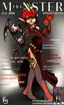 Monster Girl Pinup - Vampire