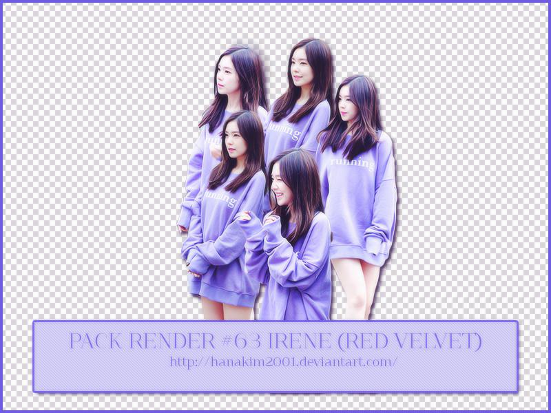Pack Render #63 Irene (Red Velvet) by HanaKim2001