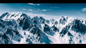 Winter mountain Vue