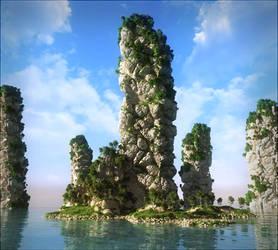 Magic cliffs