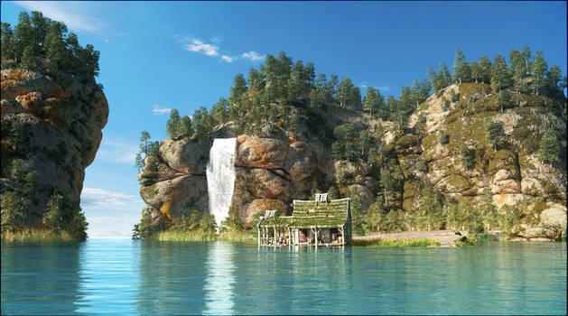 Little paradise island
