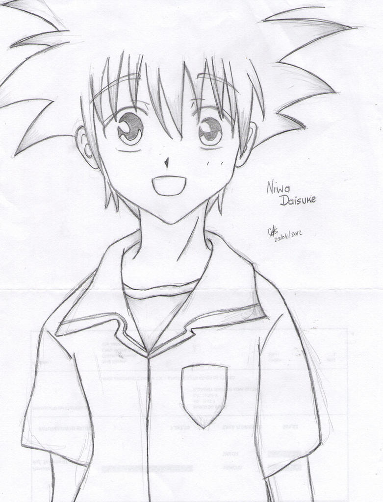 Niwa Daisuke by cak04