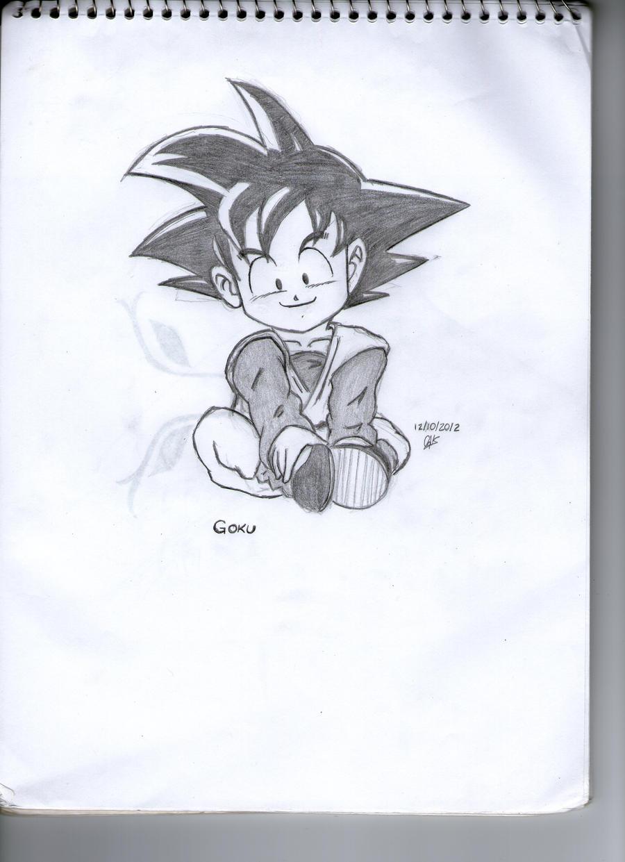Little Goku by cak04