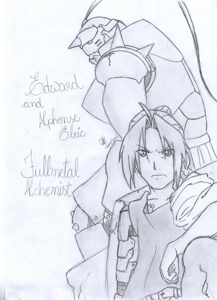 Edward and Alphonse by cak04
