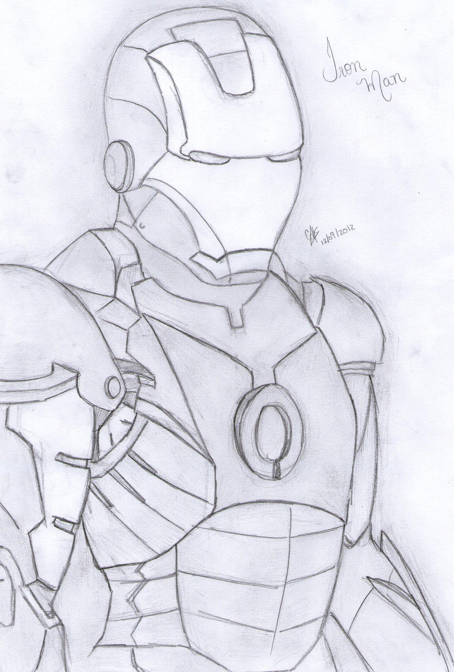 Iron Man by cak04