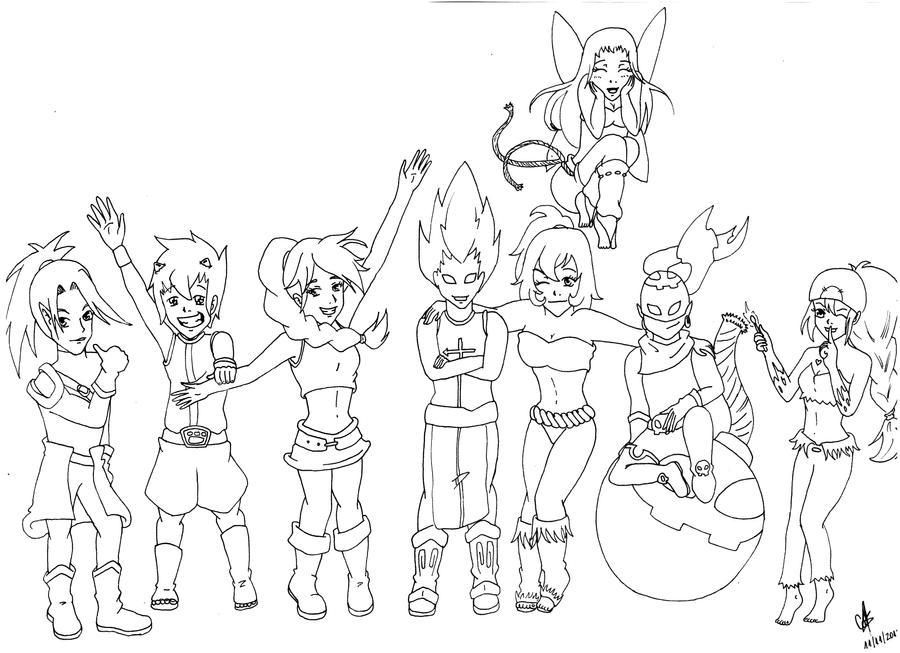 Dofus Team by cak04