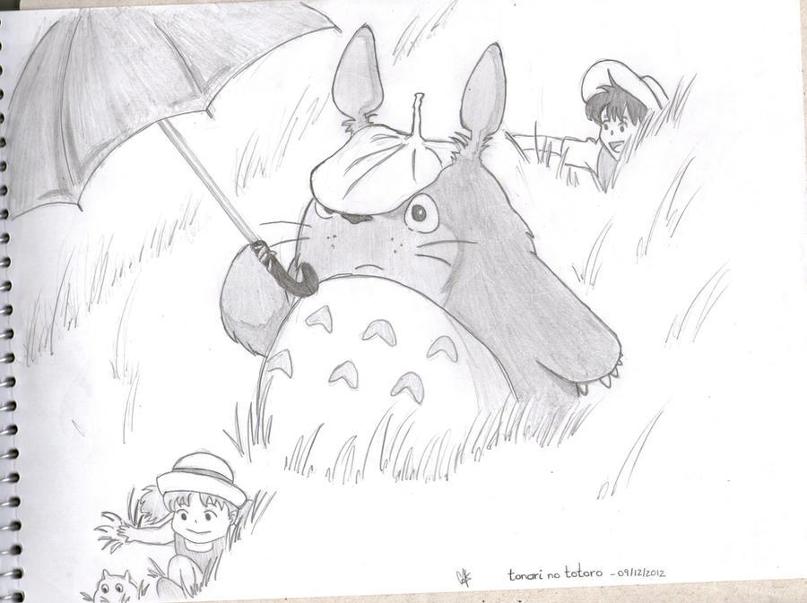Tonari no Totoro by cak04