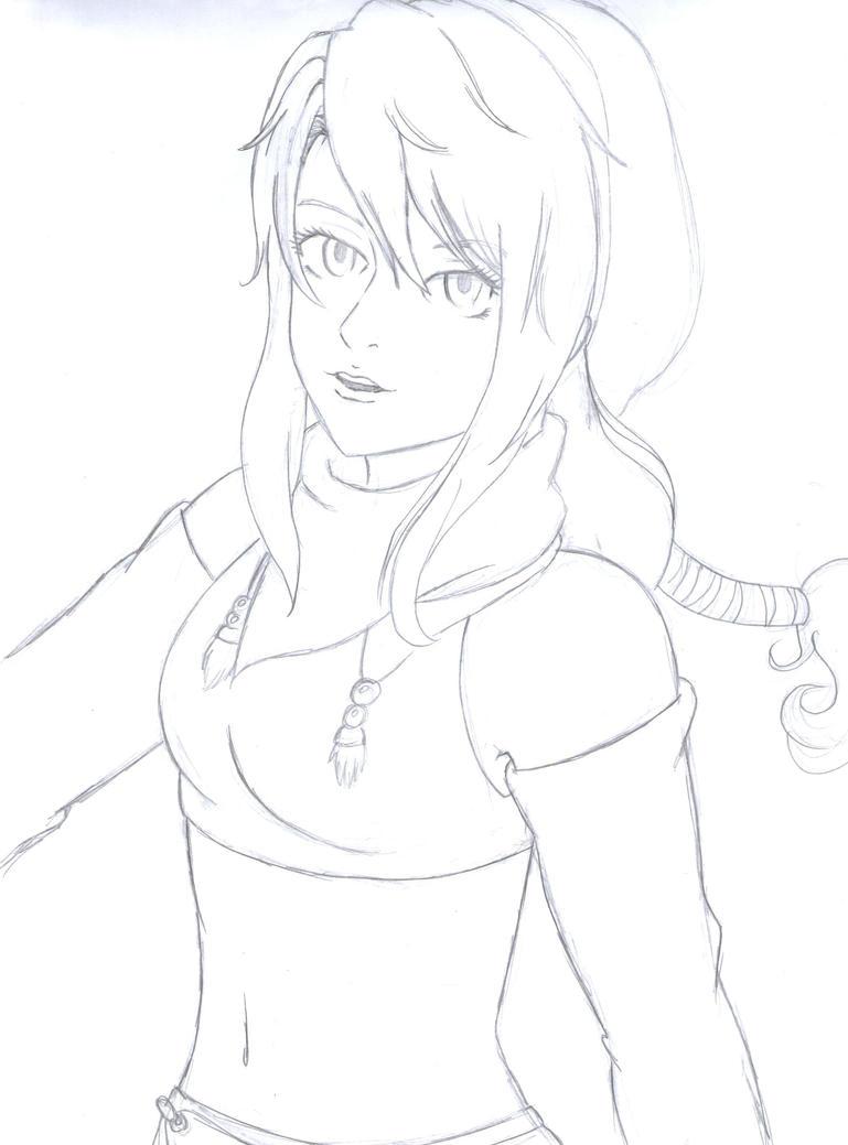 Arioka Rin by cak04