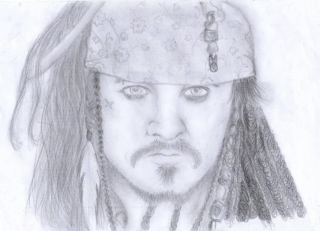 Jack Sparrow by cak04