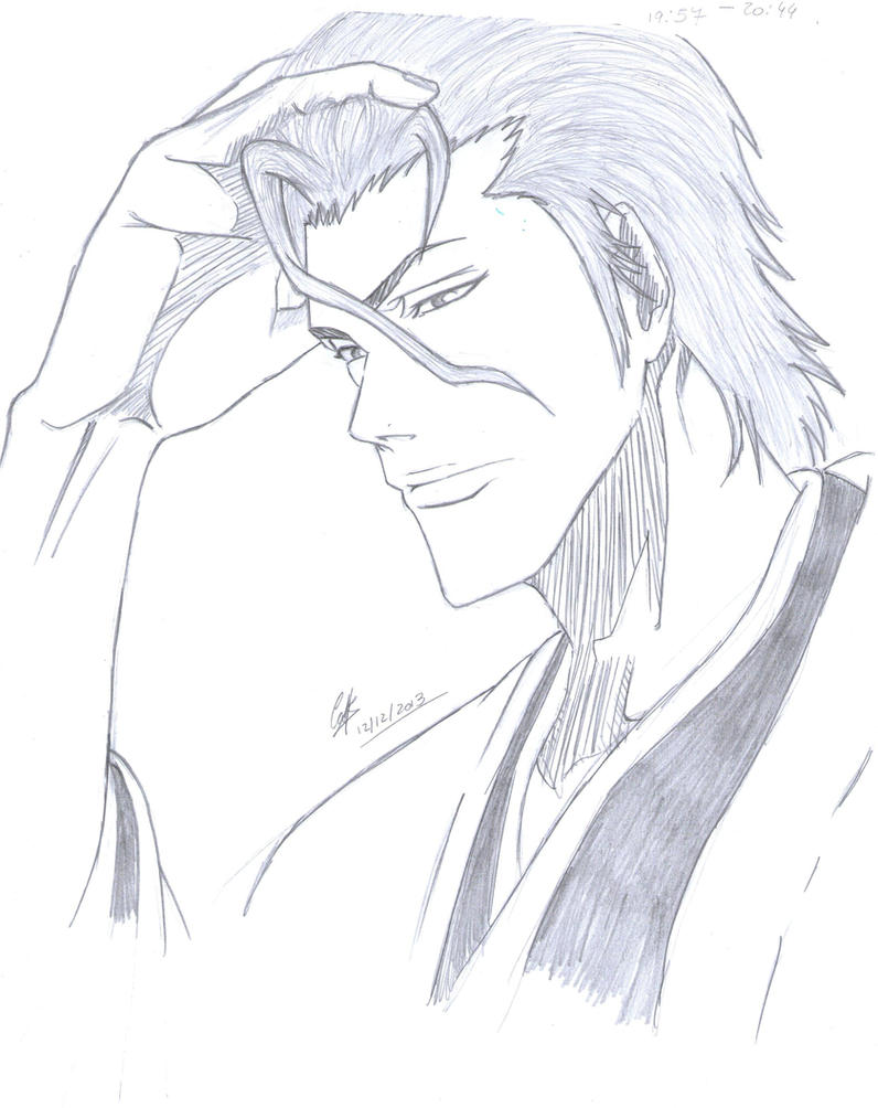 Aizen Sousuke by cak04