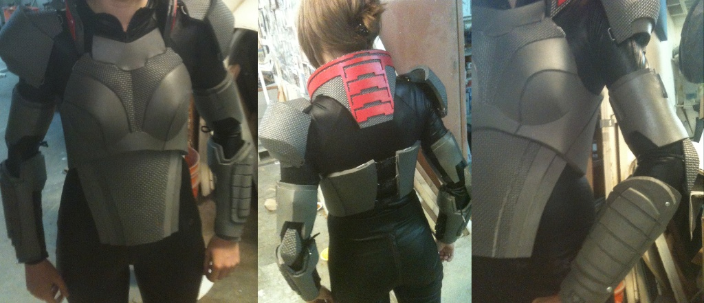 ME: FemShep Progress II by MissCordie