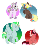 New Characters by leviostars