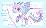 adopt pony dragon [OPEN] by Detrose