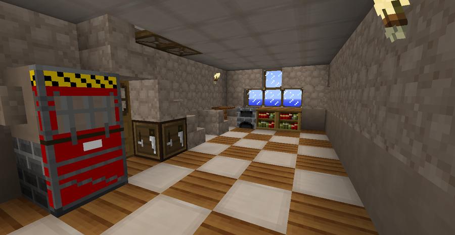 Minecraft Blacksmith House Inside By DrPivot On DeviantArt