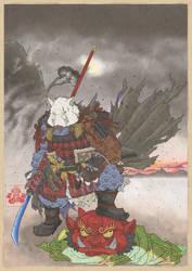 BOAR SAMURAI by abarewanko