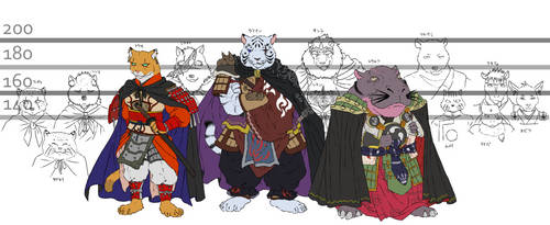 My character's height by abarewanko