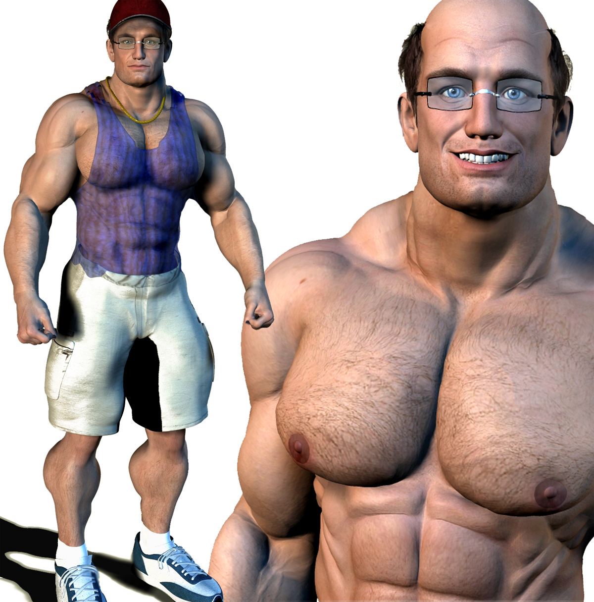 Nerdy Muscle Morph Images