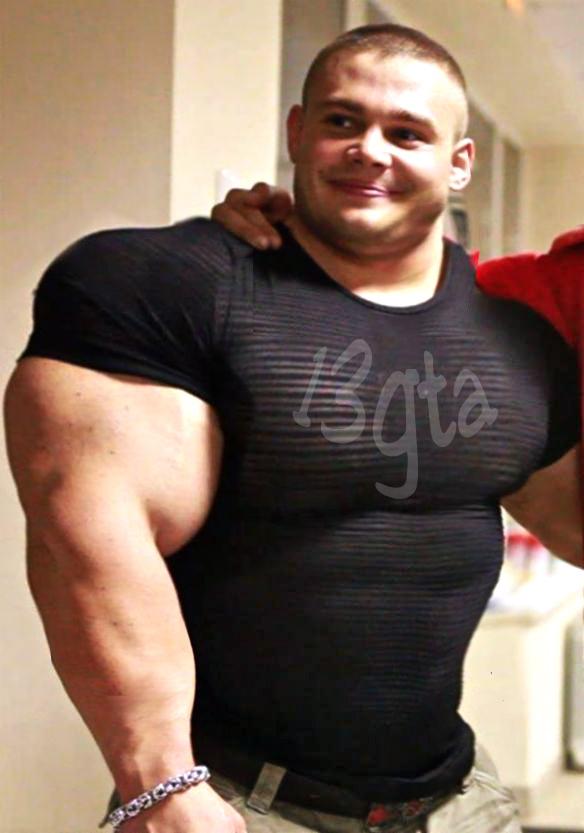 Boy big muscle