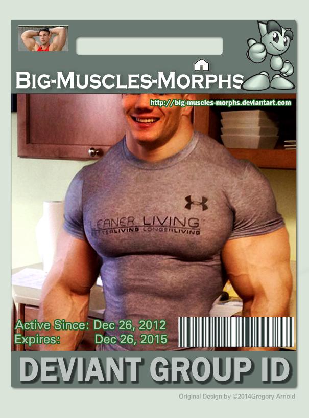 Big Muscle Morph ID by GreysonFurrington