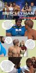 Leave Behind - MuscleyMan Comics 5 by GreysonFurrington