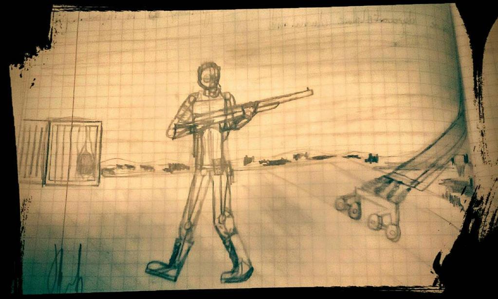 Stalker fan art 1. by hitman113