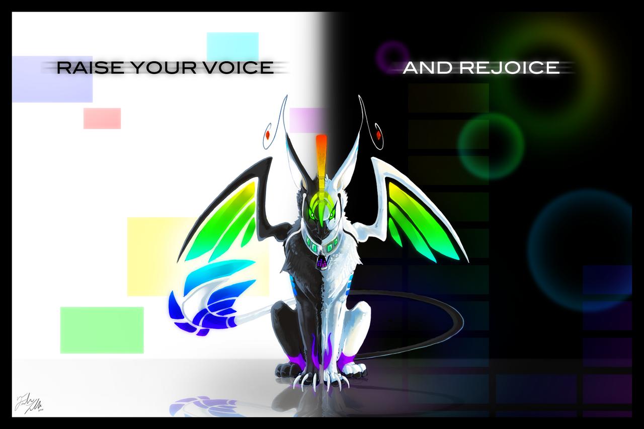 Raise Your Voice by Galahawk
