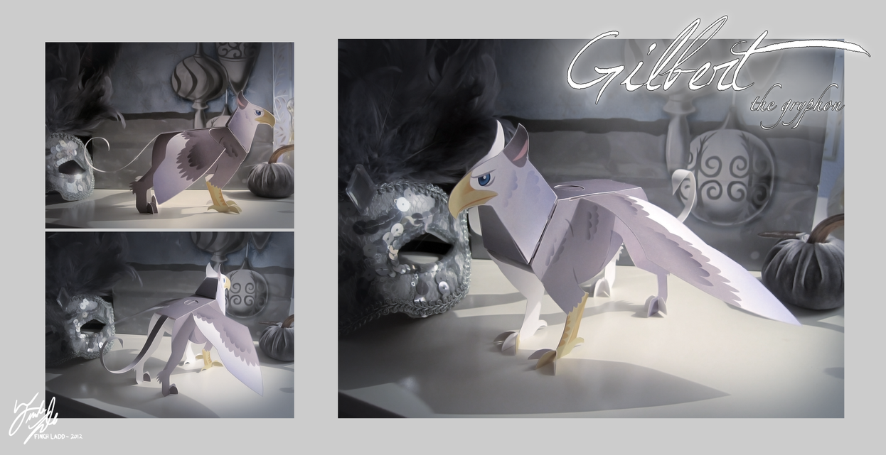 Gilbert the Gryphon - Toy by Galahawk