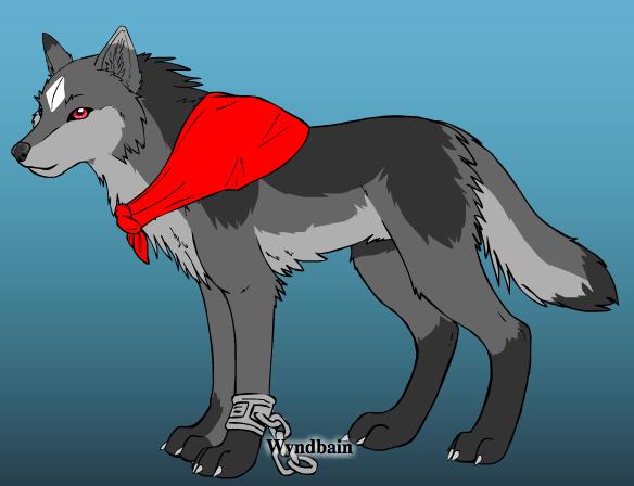 Fursona: Bandit by shadowraiwolf09